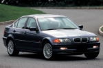 BMW 3 (E46), SDN/ESTATE Headlamp fastening