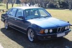 BMW 7 (E23) Window cleaner