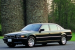 BMW 7 (E38) Wires fixing parts