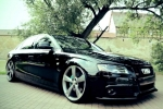 Audi A4/S4 (B8) SDN/AVANT Wheel chock with holder