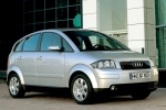 Audi A2 (8Z) Door mirror glass base