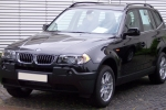 BMW X3 (E83) Glass washing
