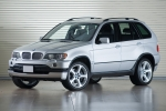 BMW X5 (E53) Number plate support