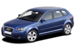 Audi A3 (8P) Wheel chock with holder