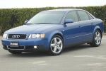 Audi A4 (B6) Compressed air spray