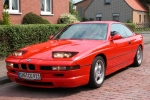 BMW 8 (E31) Petrol can