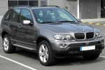 BMW X5 (E53) Upholstery cleaner