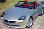 BMW Z8 (Z52) Glass washing