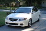 Acura TSX Technical fluids