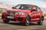 BMW X4 (F26) A/C system disinfection appliance
