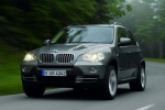 BMW X5 (E70) Wheel chock with holder