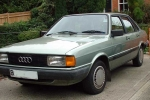 Audi 80 (B2) A/C system disinfection appliance