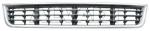 РЕШЕТКА В БАМПЕРЕ - центральная, с хромированной рамочкой, чёрная