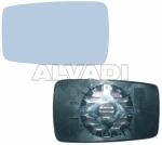 VÄLISPEEGLIKLAAS ALUSEGA - vasakpoolne, mehaaniline/elektriliselt reguleeritav, soojendusega, sirge