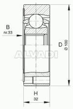 inner CV-joint