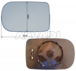 DOOR MIRROR GLASS BASE - ,