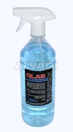 Cleanser for glass and mirrors
