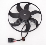 Fan without shroud/support