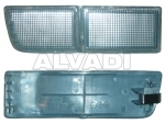 Front fog lamp blende (in bumper)