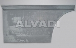 Door plate repair panel