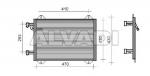 A/C radiator