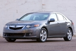 Acura TSX Fastening of front bumper reinforcement