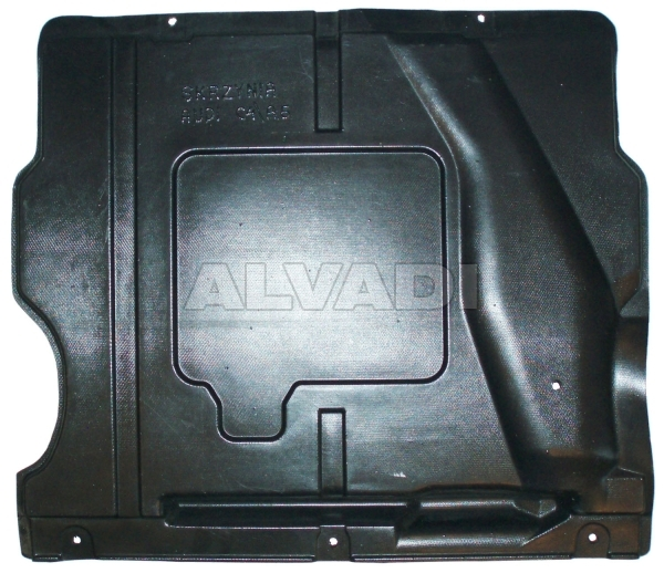 Beskyttelse under gearkassen
