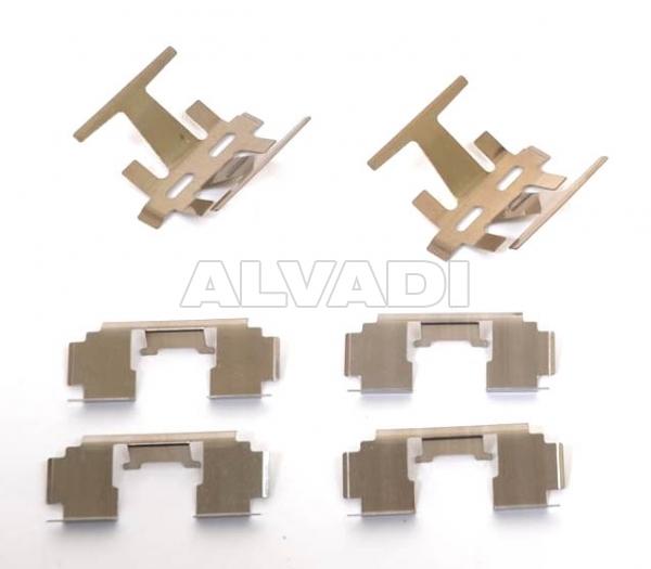 Repair kit, brake pads DELPHI LX0130 for HONDA ACCORD (CC/CD/CE/CF) SDN (EU)