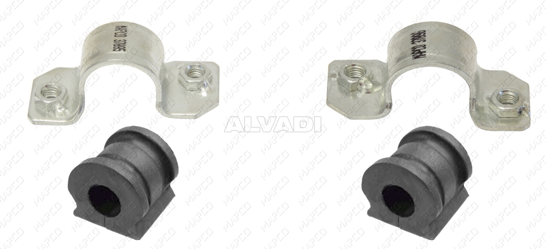 FEBI 37069 Repair Kit  stabilizer suspension Front Axle left or right