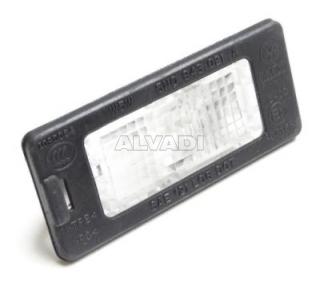 Number plate light