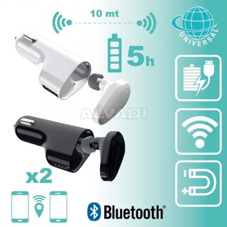 Bluetooth Hands-Free + charger + USB
