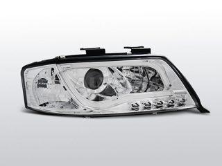 AUDI A6 06.01-05.04 LED TUBE LIGHTS CHROME